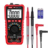 TA801C TRMS 9999 Counts Auto-Ranging Multimeter Measure Capacitance Diode Continuity NCV (Non-Contact AC Voltage Detection) VFC Ohm Hz Duty Cycle AC/DC Voltage AC/DC Current with LCD Backlit Display