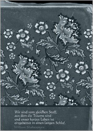 Tangofish Im5er Set: Edele rouwkaart in grijs met divers en troost Shakespeare citaat • Bijleidskaart condolekaart rouwbijjurk wenskaart in geval van overlijden voor het rouwhuis