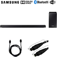 Samsung HW-Q60R 360W Virtual 5.1-Channel Soundbar System (HWQ60R) w/Accessories Bundle Includes, 6ft High Speed HDMI Cable (Black) and 6ft Optical Toslink 5.0mm OD Audio Cable