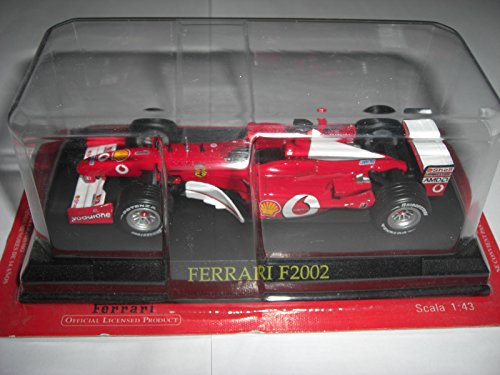 Altaya by Ixo Ferrari F2002 F 2002 Nr 1 Michael Schumacher Formel1 Formel 1 F 1/43 Modellauto Modell Auto