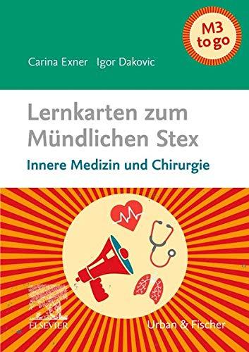 Lernkarten zum Mündlichen Stex: Innere Medizin und Chirurgie