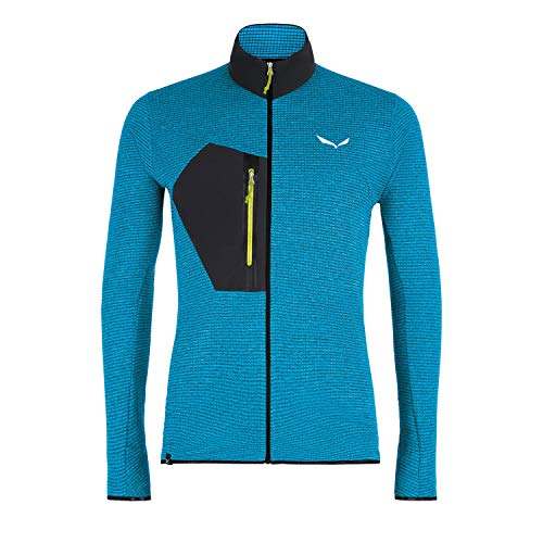 Salewa 00-0000027719_8989 Polaire Homme, Blue Danube Melange/0910, FR : S (Taille Fabricant : 46/Small)