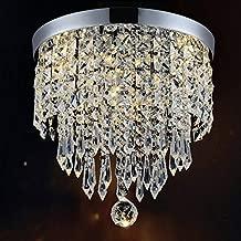 Hile Lighting KU300074 Modern Chandelier Crystal Ball Fixture Pendant Ceiling Lamp H10.43