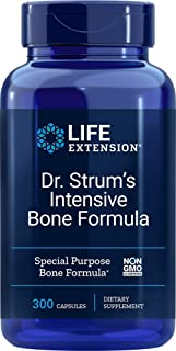Life Extension Dr. Strum's Intensive Bone Formula, 300 Capsules