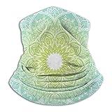 Pañuelo para cuello de mandala, pañuelo para cabeza, calentador de cuello,...