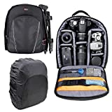 DURAGADGET Rucksack w/Adjustable Padded Interior & Raincover - Compatible with The Zoopa Q155 Drone