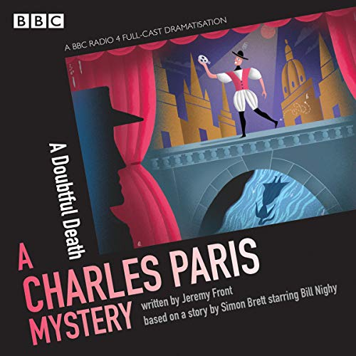 Charles Paris: A Doubtful Death audiobook cover art