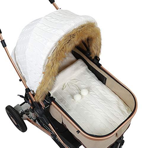 Haokaini Baby Stroller Cover Sleeping Bag Set Windproof Newborn Infant...