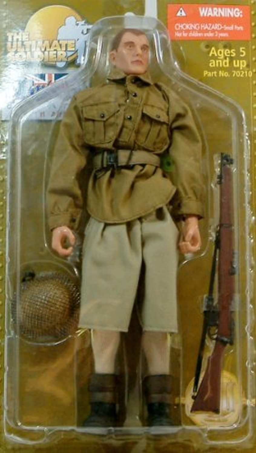 The Ultimate Soldier British 8th Army North Africa Action Figure by 21st Century Toys