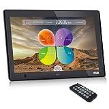 SSA 10.1' Cadres photo numérique HD Built-in Storage Motion Sensor...