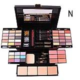 UCANBE BELLE Set Maquillaje Box 39 del Color del Profesional compone Sistemas de Sombra de Ojos Brillo de Labios Polvos Base de Maquillaje Kit De maquiagem Cosméticos,N