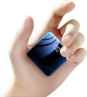 TYHOO 20000Mモバイルバッテリー 10000mAh パワーバンク 最小最軽量外部バッテリー 急速携帯充電器 2USB出力ポート スマホバッテリー iPhone Xs X 8 7 6 Samsung Galaxy Note 9 S9 iPad Tablet等対応 PSE認証済(ブラック)