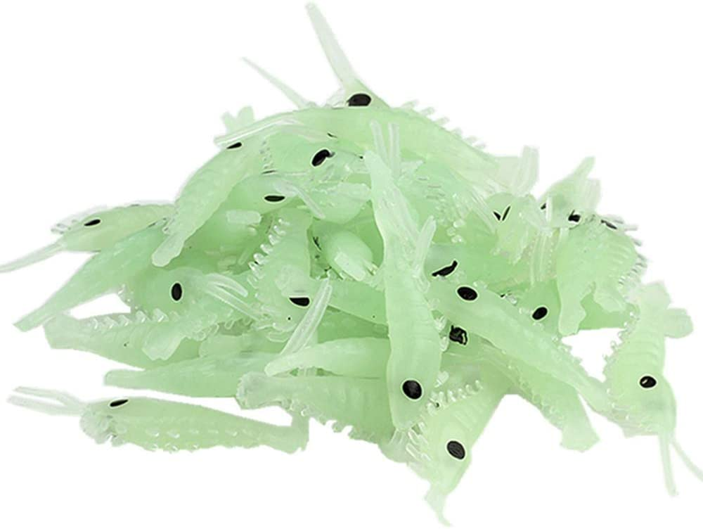 Persei Fishing Bait Soft Lure Price reduction Worms Luxury Shrimps f Glow Lures