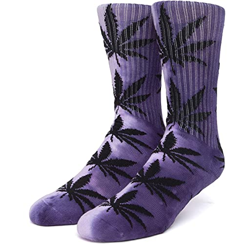 HUF Herren Socken Tiedye Plantlife, Größe:ONESIZE, Farben:purple