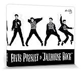 1art1 Elvis Presley - Jailhouse Rock Poster Leinwandbild