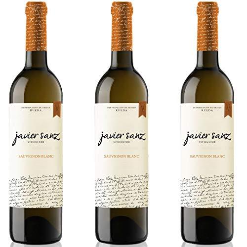 Javier Sanz Vino blanco - 3 botellas x 750ml - total: 2250 ml