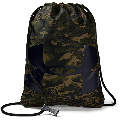 Under Armour Adult Ozsee Sackpack , Artillery Green (357)/Black , One Size Fits All