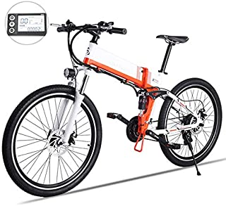 SHIJING New Electric Bicycle 48V500W Assisted Mountain Bicycle Lithium Electric Bicycle Moped Electric Bike ebike Electric Bicycle elec