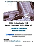 By ExamREVIEW - MCSE System Center 2012 Private Cloud Exam 70-243, 246 & 247 Exam (Large Print Edition) (2013-03-24) [Paperback]