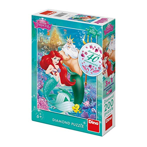 Dino Toys (DINR7) Puzzle Ariel 200 Piezas Diamante, Multicolor Toys sro Dino_422148