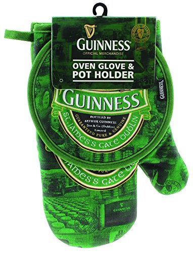Guinness Beer Guanto Termico E Presina St. James Barbecue