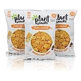Plant Snacks VEGAN Cheddar Mix Cassava Root Chips, Vegan, Big-8 Allergen Free, Non-GMO Project Verified, Gluten Free, Grain Free, No Added Sugar, 5 oz Bags, Pack of 3