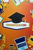 Tarjeta de felicitación de Origami Color, graduación