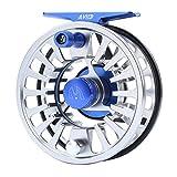 MAXIMUMCATCH Avid Serie Wert Fliegenfischen Rolle-1/3, 3/4, 5/6, 7/8, 9/10wt, 5 Farbe auszuwählen (Silver+Schwarz, 7/8wt)
