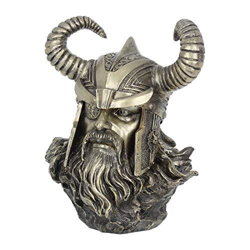 Nemesis Now Odin - Figura Decorativa (27 cm), Color Bronce