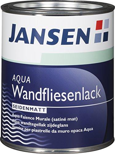Jansen AQUA Fliesenlack Weiß Seidenmatt 750ml (750ml, weiß)