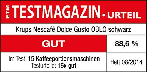 Pack Krups Dolce Gusto Oblo KP1108 – Cafetera de cápsulas, 15 bares