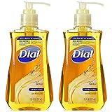 Dial Antibacterial Liquid Hand Soap Gold 7.50 oz (Pack of 2)