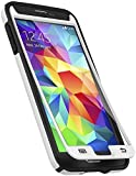 Speck Products CandyShell Plus FACEPLATE Case with Screen Protector for Samsung Galaxy S5 - White/Black