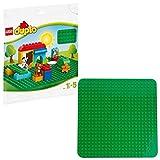 LEGO DUPLO Mes 1ers pas - Grande Plaque de Base Verte LEGO DUPLO, 18 Mois et Plus, 1 Pièce - 2304
