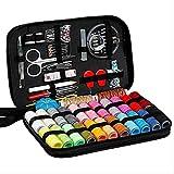 90 kits de costura DIY multifunción caja de costura Set de costura para bordado de mano de costura bordado de hilo de coser accesorios de costura