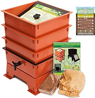 worm farm or compost bin