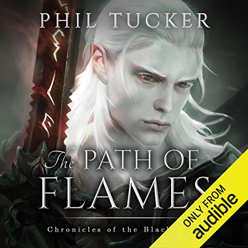 The Path of Flames audiobook cover art
