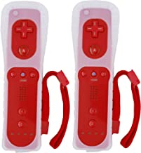 $31 » Wii Remote Controller,2pack nintendo wii controller Wireless Gesture Controller with Silicone Case and Wrist Strap Compati...