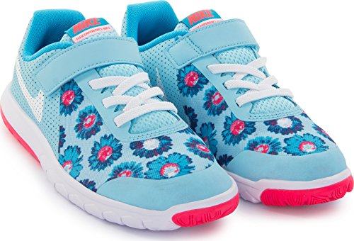 Nike Flex Experience 5 Print (PSV) Sneaker für Mädchen, Türkis - türkis - Größe: 29.5 EU