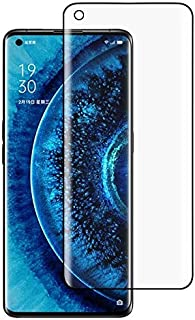 Glass Screen Protector For OPPO Find X2 Pro 9H HD 3D Curved Edge Tempered Glass Film (Transparent) Anti-scratch (Color : C...