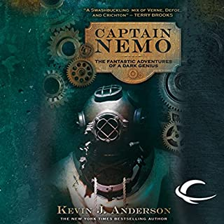 Captain Nemo audiobook cover art