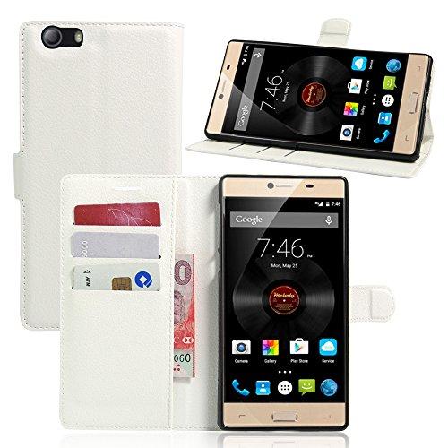 Litao-Case CN Hülle für Elephone M2 hülle Flip Leder + TPU Silikon Fixierh Schutzhülle Case 8