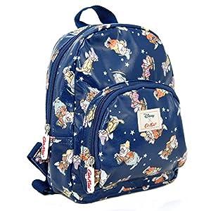 51uu3oKxGxL. SS300  - Cath Kidston Kids - Mini mochila para niños, diseño de estrellas blancas como la nieve y los siete enanos, color azul marino