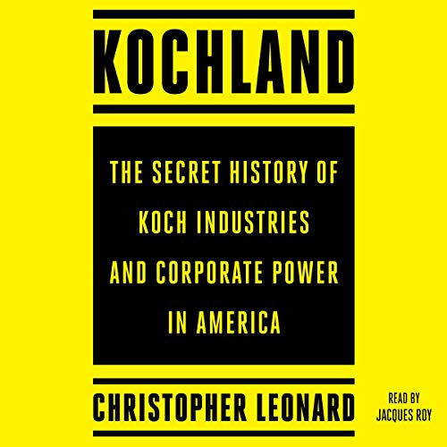Kochland audiobook cover art