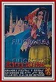 PostersAndCo Zaragoza Ferias 1934 Poster/Reproduktion, 40 x