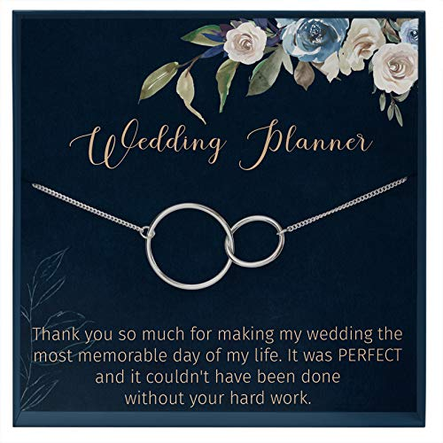 Muse Infinite Wedding Planner Gift for Wedding Coordinator Gift for Event Planner Gift Thank You Card for Wedding Planner Appreciation Gift