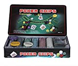 How (House Of Wishes) With Device How (House Of Wishes) Professional 300 Coins Poker-Chips Set (Tin Case Safe Pack)