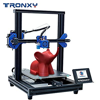TRONXY New Upgraded 3D Printer XY-2 PRO Fast assembly Quick Installation Auto leveling Continuation Print Power Filament Sensor Full Color Touch Screen 255X255 X 260