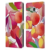 Head Case Designs Officially Licensed Turnowsky Overload Fruit Burst Leather Book Wallet Case Cover Compatible with Samsung Galaxy J7