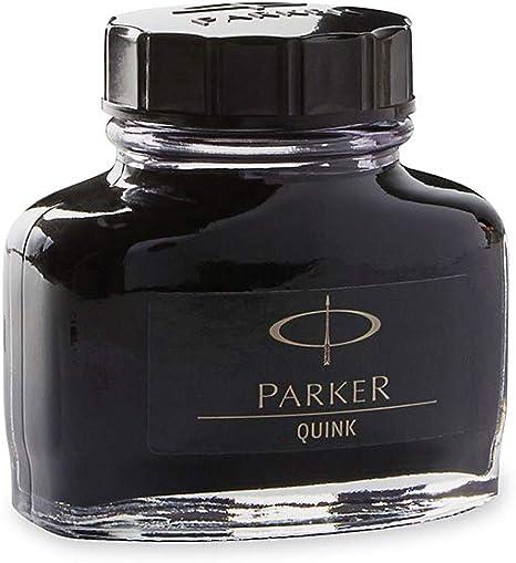 Parker Flacone Inchiostro  Quink Nero-Blu
